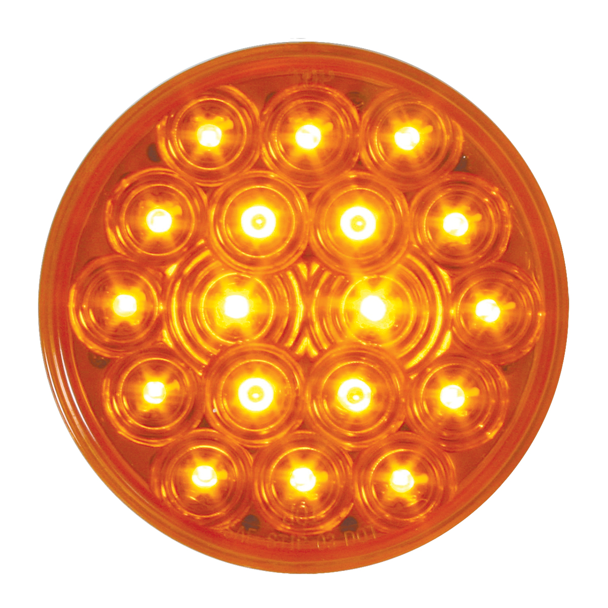 "75070 24V 4"" Round Fleet LED Light"