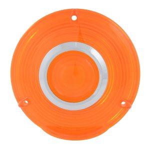 Plastic Lens w/Chrome Rim
