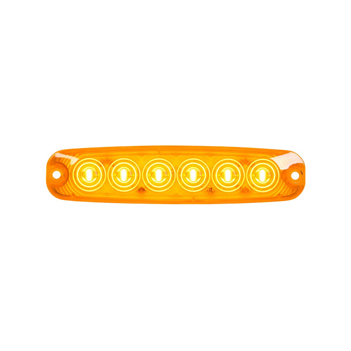 "5 ⅛"" Ultra Thin LED Light - Amber/Amber"