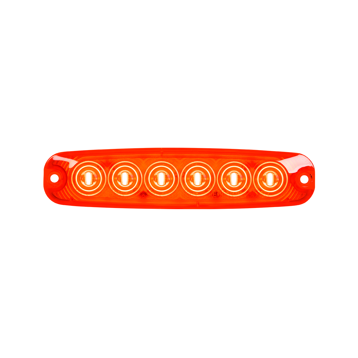 """5 ⅛"""" Ultra Thin LED Light - Red/Red"""