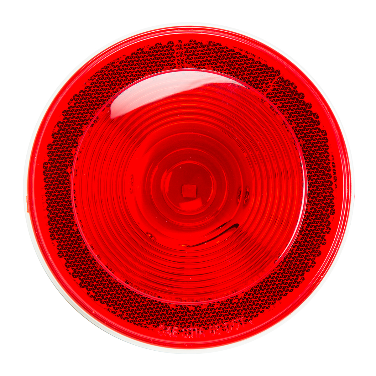 "4"" Single LED w/Reflective Ring Lens"